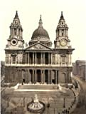 St Pauls Cathedral West Front London - 25 x 19cms Fabric Topped Mouse Mat