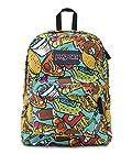 JanSport Classic Superbreak Backpack Multi Junkfood