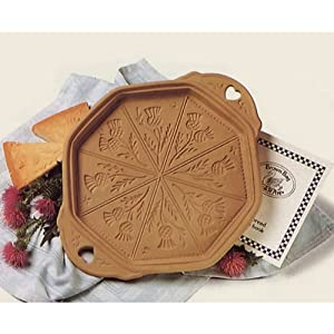 Brown Bag Scottish Thistles Shortbread Pan