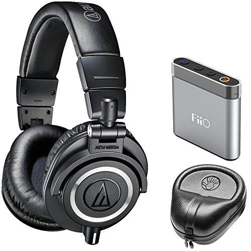 Audio Technica ATH M50X Professional Studio Monitor Headphone
