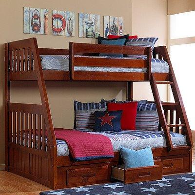 3 Sleeper Bunk Beds 7407 front