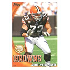 2010 Topps NFL Football Card # 324 Joe Thomas AP - Cleveland Browns (All Pro) NFL...