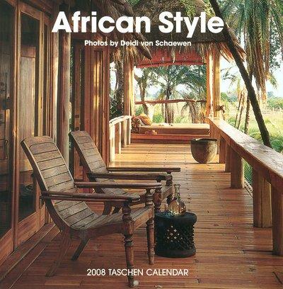 African Style 2008 Wall Calendar
