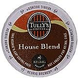 Keurig, Tullys, House Blend, K-Cup Packs, 50 Count