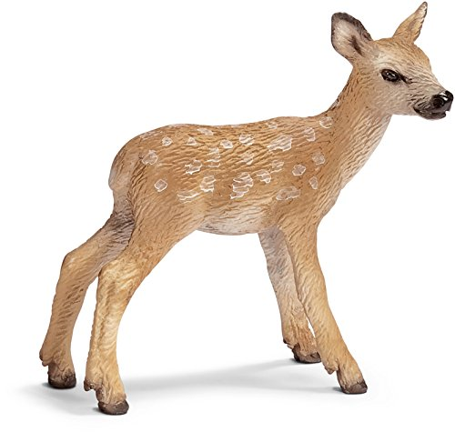 Schleich Red Deer Calf Toy Figure - 1