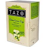 Tazo Teas, China Green Tips, Green Tea, 20 Filterbags, 1.4 oz (40 g)