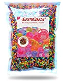 MarvelBeads Water Beads Rainbow Mix, 8 Ounces for Spa Refill, Sensory Toys and Décor