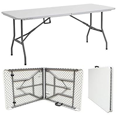 Hartleys 6FT Folding Table Car Boot Stall Buffet/Wedding/Garden/Street Party In/Out Door/Market/Fete/Fair Foldaway