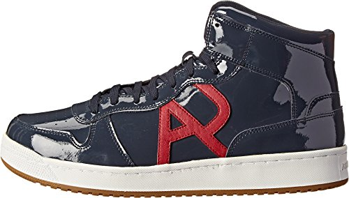 B00IX9C8P0 Armani Jeans Men's ZM519235E Blue Sneaker UK 9.5 (US Men's 10) M
