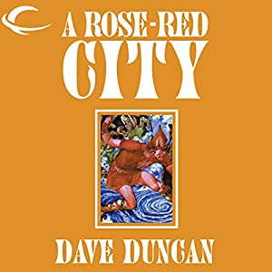 A Rose-Red City Audiobook