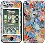 【iPhone 4 ケース/カバー Gizmobies(ギズモビーズ)】 Kim Bear (iPhone 4)