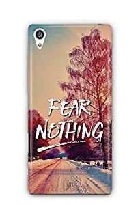 YuBingo Fear Nothing Designer Mobile Case Back Cover for Sony Xperia Z5 Premium