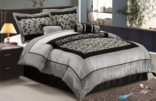 Faux Silk Bedding 428 front