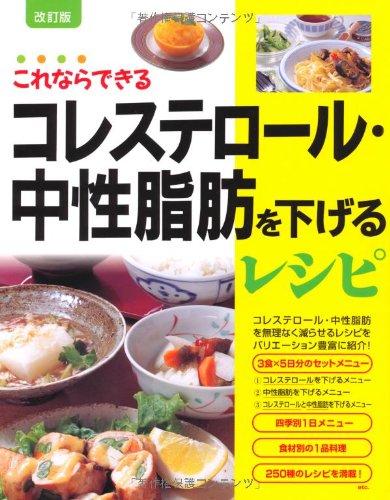 コレステロール・中性脂肪を下げるレシピ