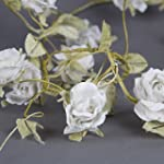 Vintage style flower garland Cream Ro...