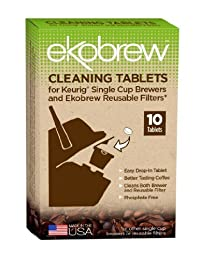 EKO BRANDS LLC CLEANING TABLET FOR BREWER, 10 TB