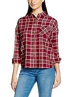NEW CARO Camisa Mujer (Granate)