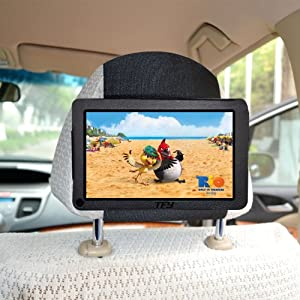 TFY Kindle Fire Car Headrest Mount Holder (does not fit Kindle Fire HD)