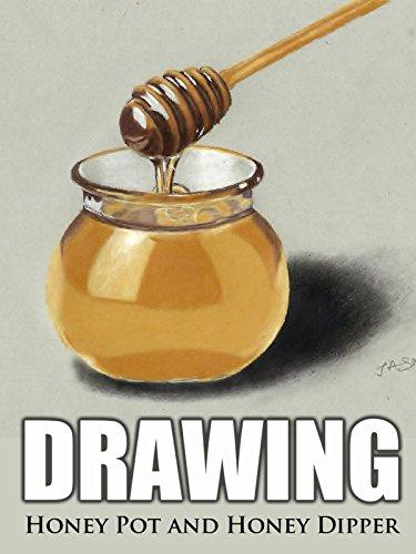 Clip: Drawing Honey Pot and Honey Dipper