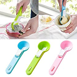 Premium Quality Plastic Icecream Scoop - Pink