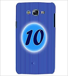 PrintDhaba Numerology Number 10 D-2566 Back Case Cover for SAMSUNG GALAXY ON 5 (Multi-Coloured)