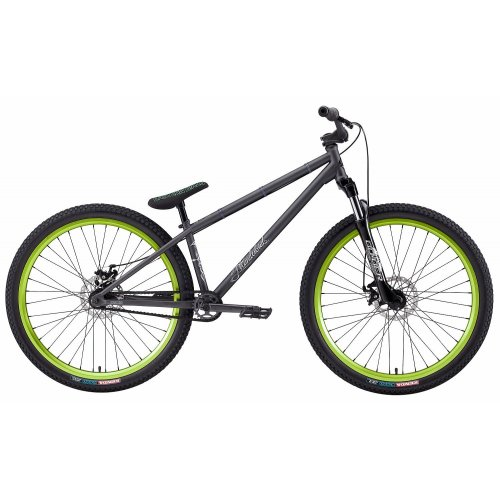 Eastern Bikes 2012 Thunderbird Matte BMX Bike (Black with Green)