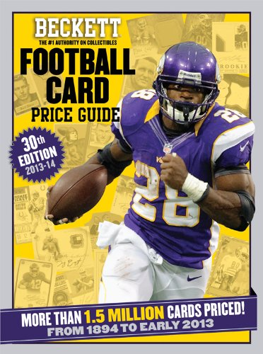 Beckett Football Card Price Guide 2013-14