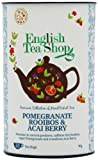 English Tea Shop Super Rooibos Acai Pomegranate 60 Tagged Tea Bags (Pack of 2)