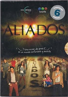 ALIADOS PRIMERA TEMPORADA COMPLETA 6 DVD'S - UNA MISION DE AMOR EN UN MUNDO CONFUNDIDO Y AUSENTE - REGION 4