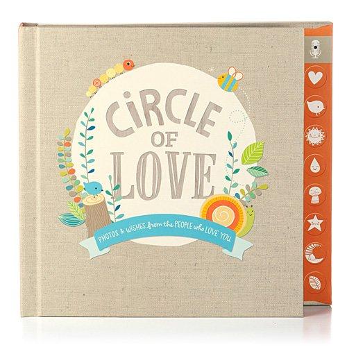Hallmark Baby Circle of Love Press & Play Recordable Photo Memory Book - 1