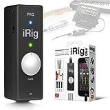 IK Multimedia / アイケーマルチメディア iRig PRO オーディオ MIDI インターフェイス iOS対応 【国内正規品】