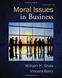 img - for Moral Issues in Business book / textbook / text book