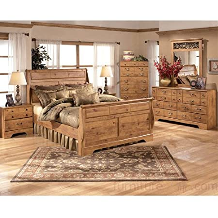 Bittersweet Sleigh Bedroom Set (King) by Ashley Furniture