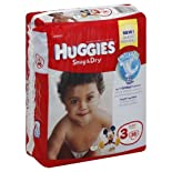 Huggies Diapers, Size 3 (16-28 lb), Disney Baby, Jumbo 36 diapers