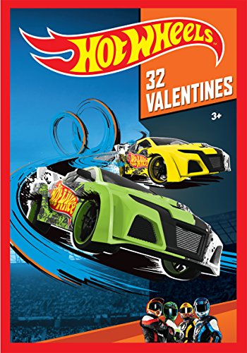Hot Wheels Kids Valentine Cards