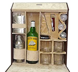 Buy premium leather bar set for travel bar accessories for Bar decor amazon