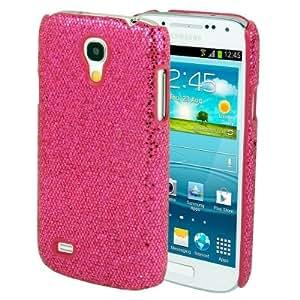 Crazy4Gadget Glitter Powder Skinning Plastic Case for Samsung Galaxy S IV mini / i9190(Magenta)