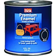 Rust Oleum2107Do it Best Premium Latex Enamel-JAVA BROWN LATEX ENAMEL