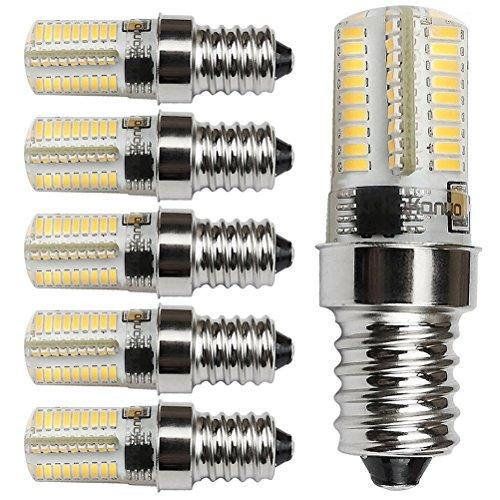 kakanou 6er e14 4w led lampen birne ersatz a halogen nicht dimmbare 72 3014smd 220v 360lm. Black Bedroom Furniture Sets. Home Design Ideas