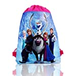 Frozen Princess Elsa Anna Drawstring...