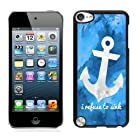 Pingguostory Anchor 1 New fashion iPod Touch 5 Case Black Cover case
