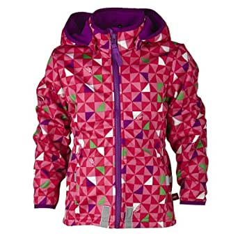 LEGO Wear Manteau  capuche Manches longues Fille - Rose fonc - Pink (469 RADISH RED) - FR : 11 ans (Taille fabricant : 146)