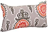 Majestic Home Goods Michelle Pillow, Small, Salmon