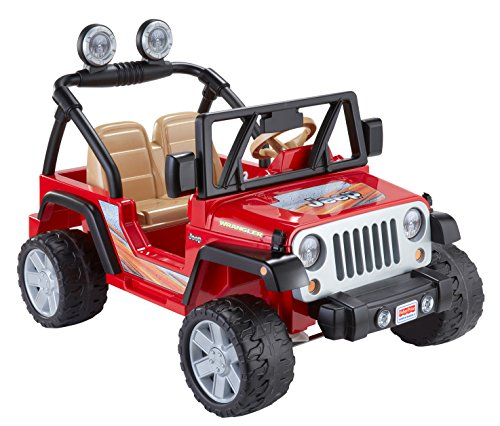 image is loading kids electric car fisher price wheels jeep wrangler