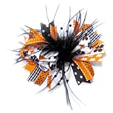 A Girl Company Halloween Feather Hair Bow