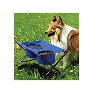 Pet Store Dog Travel Diner- Portable, foldable and waterproof dog feeder