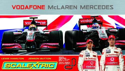 Scalextric C1253 Vodafone McLaren Mercedes 1:32 Scale Race Set