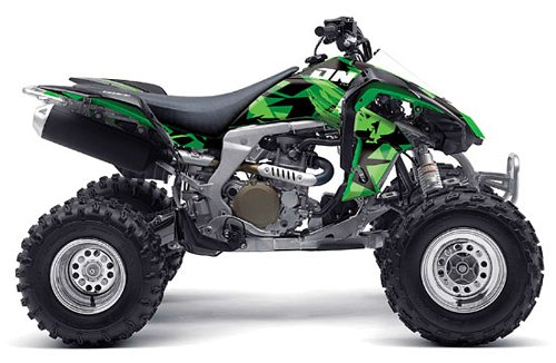 One ICON CAMO Graphics Kit Kawasaki KFX 450 Quad