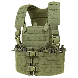 Condor Modular Chest Set, Olive Drab, M-XL, Adjustable CS-001