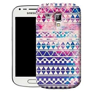Retro coque etui housses case Cover pour Samsung Galaxy Trend S7560